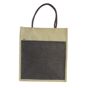 Brown Jute Lunch/Shopping Bag