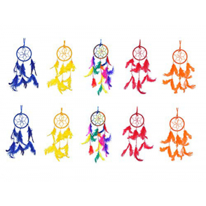 3 inch Small Dream Catchers Combo  (Pack of 10)
