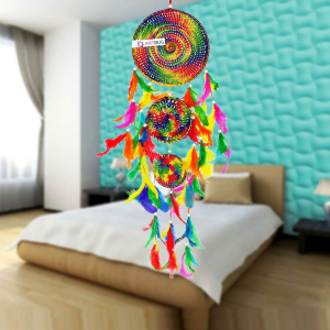 Dream Catcher 3 Rounds - Multicolor