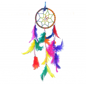 Small Dream Catcher for Cars - Car Hanging Decorative (3 inch)