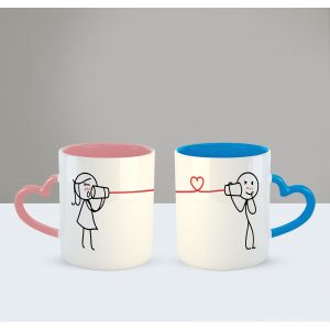 I just call to say 'i love you' Printed Ceramic Coffee Mug for Couple , Wife , Husband