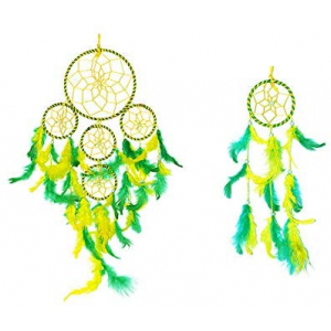 Dream Catcher 5 Rounds Wall Hanging (Combo Pack of 2)