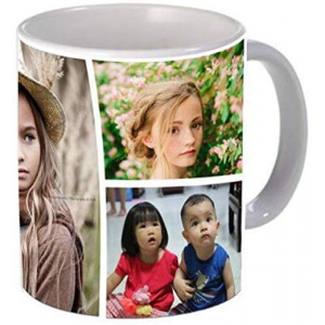 Personalized Photo Ceramic Mug - Best Gift for Birthday for Kids, Friends, Brother, Sister, Family, Spouse