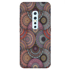 Abstract Vivo V17 Pro Mobile Cover