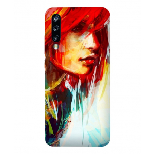 Girl Painting Xiaomi Mi A3 Mobile Cover