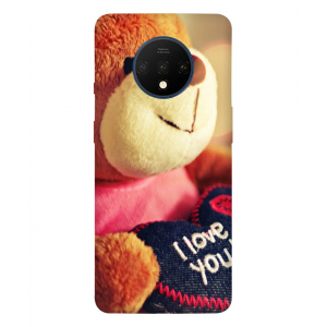 I Love You One Plus 7T Mobile Cover