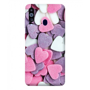 Heart Samsung Galaxy M40 Mobile Cover