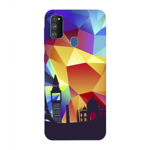 Abstract Samsung Galaxy M30s Mobile Cover