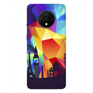 Abstract One Plus 7T Mobile Cover