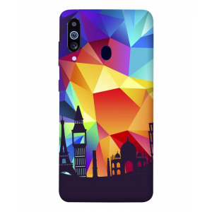 Abstract Samsung Galaxy M40 Mobile Cover