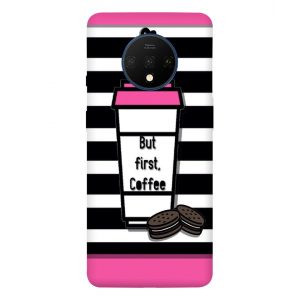 But First Coffee One Plus 7T Mobile Cover