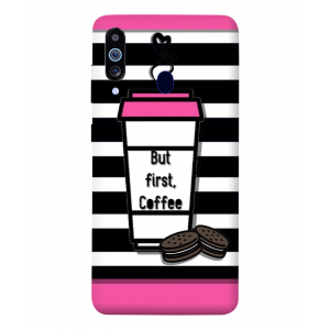 But First Coffee Samsung Galaxy M40 Mobile Cover