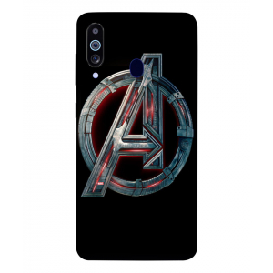 Alphabet A Samsung Galaxy M40 Mobile Cover