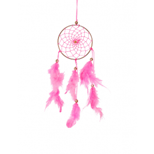 Dream Catcher 3 inch - Pink (Pack of 1)