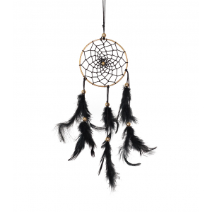 Dream Catcher 3 inch - Black (Pack of 1)