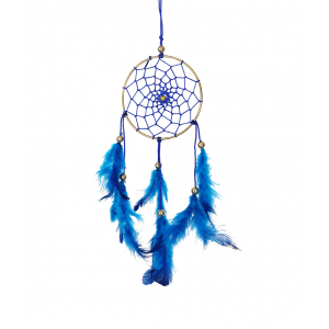 Dream Catcher 3 inch - Blue (Pack of 1)