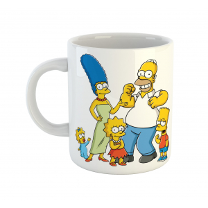 Simpsons Cartoon Ceramic Coffee Mug
