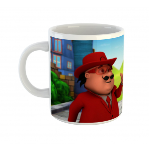 Motu Patlu Cartoon Ceramic Coffee Mug