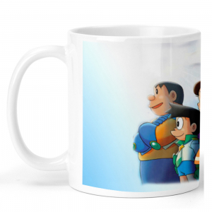 Doraemon Cartoon Ceramic Coffee Mug