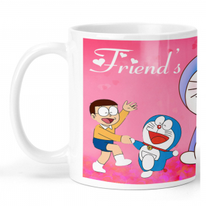 Doraemon Friends Forever Cartoon Ceramic Coffee Mug