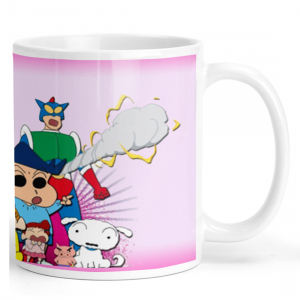 Shinchan Family Cartoon Ceramic Coffee Mug