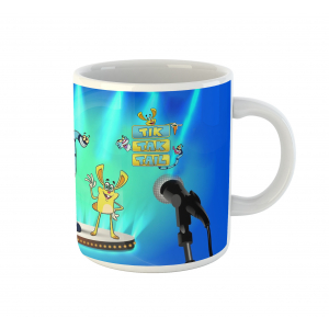 Tik Tak Tail Cartoon Ceramic Coffee Mug
