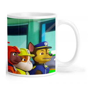 Paw Patrol Cartoon Ceramic Coffee Mug
