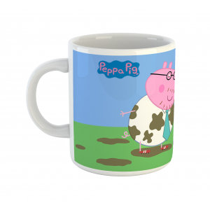 Peppa Pig Cartoon Ceramic Coffee Mug