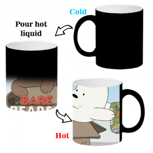 We Bare Bears Cartoon Ceramic Coffee Mug