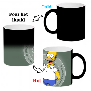 The Simpsons Cartoon Ceramic Coffee Mug