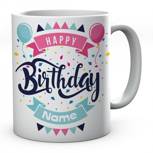 Happy Birthday Coffee Mug - Best Gift for Birthday for Kids, Friends, Brother, Sister, Family, Spouse