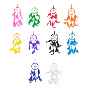 Small 3 Inch Dream Catcher Combo for Cars / Home (Pack of 10)